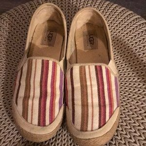 Ugg loafers slip on shoes 7.5